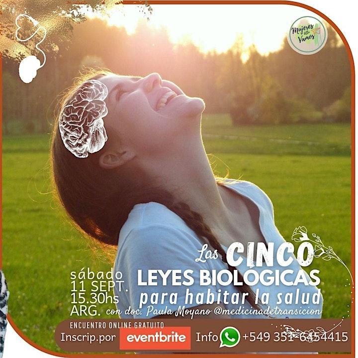Imagen de Las 5 leyes biológicas, una mirada para habitar la salud.