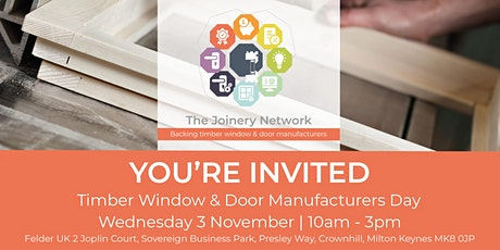 Timber Window & Door Manufacturers Day tickets