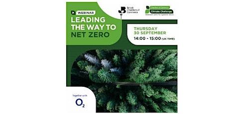 Leading the way to Net Zero tickets
