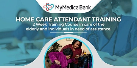 MMB HOME CARE ATTENDANT TRAINING (September edition 2021) tickets
