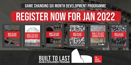 The Boiler Business - Built To Last Dominate Programme REGISTER OF INTEREST tickets