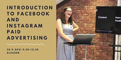 Introduction to Facebook and Instagram paid advertising for small business. tickets