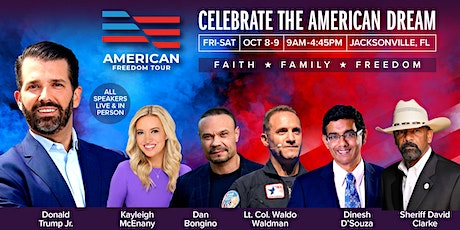 American Freedom Tour Jacksonville with Donald Trump Jr tickets