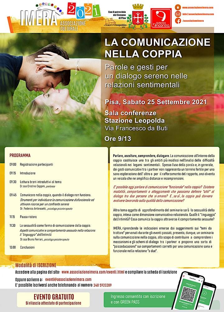 Immagine LA COMUNICAZIONE NELLA COPPIA - Parole e gesti per un dialogo sereno
