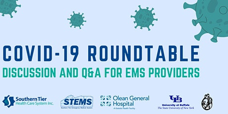 COVID Vaccine Roundtable: Discussion and Q&A for EMS Providers tickets