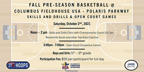 Fall Pre-Season Basketball Event @ Columbus Fieldhouse USA -Polaris Parkway tickets