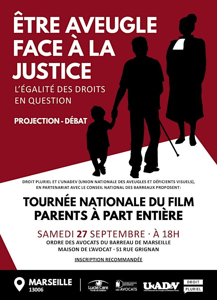 Image pour Soirée débat - Etre aveugle face à la justice ! - Marseille