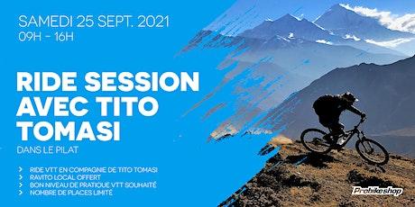 Ride session avec Tito Tomasi billets