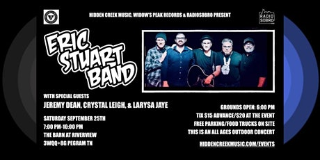 The Eric Stuart Band, with Jeremy Dean,  Crystal Leigh, & Larysa Jaye tickets