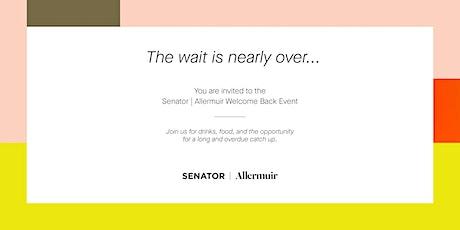 Senator   Allermuir Welcome Back Event tickets