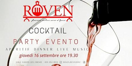 Roven Cocktail Party Evento biglietti