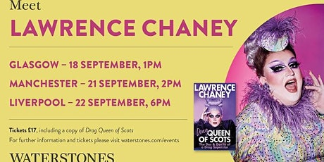 Meet Lawrence Chaney - Manchester Trafford Centre tickets