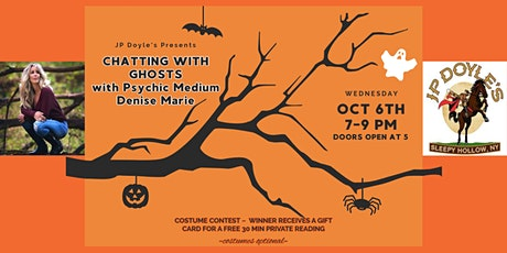 Chatting with Ghosts  at JP Doyle's in Sleepy Hollow tickets