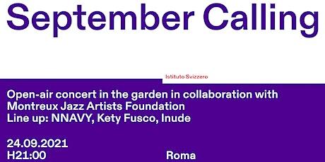 September Calling - Concert biglietti