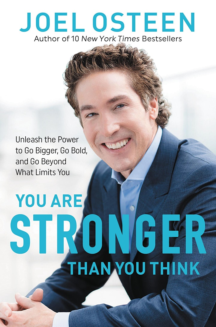 B&N Virtual Event: Joel Osteen celebrates YOU ARE STRONGER THAN YOU THINK! image