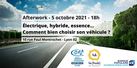 [Afterwork] Electrique, hybride, essence... Bien choisir son véhicule! billets