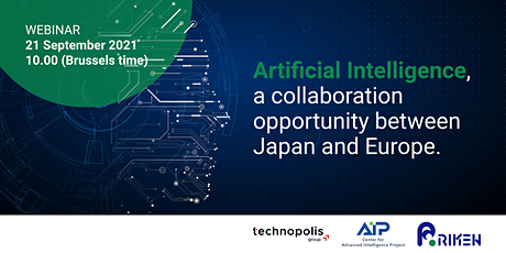 Artificial Intelligence, a collaboration opportunity between Japan & Europe tickets