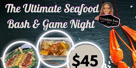 The Ultimate Seafood & Game Night tickets