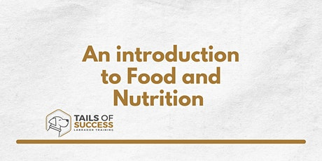 Tails of Success - An introduction to Food and Nutrition for your Labrador tickets
