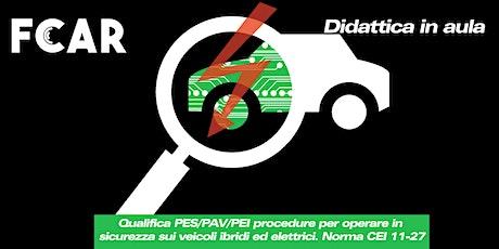 QUALIFICA PES-PAV. NORMA CEI 11-27 biglietti
