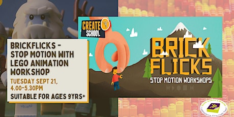 BrickFlicks - Stop Motion with Lego Animation Workshop tickets