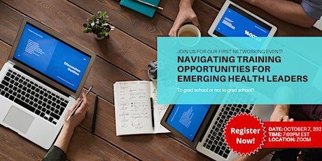 Navigating Training Opportunities for Emerging Health Leaders tickets