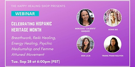 Spiritual Healers Guest Event [Celebrating Hispanic Heritage Month!] tickets