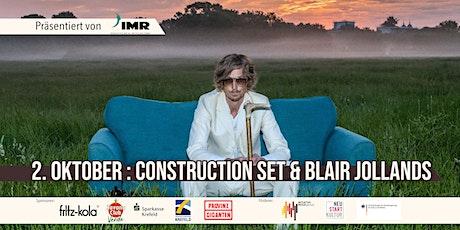 Construction Set & Blair Jollands - Double Feature / Open Air Tickets