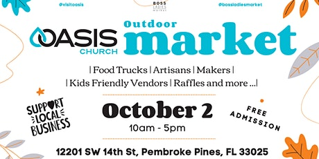 Oasis Outdoor Market - Free Entrance tickets