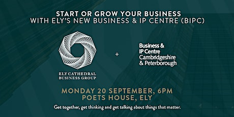 Sept Networking: Start or grow your business with Ely's new BIPC Centre tickets