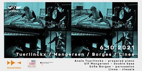 TUERLINCKX / MENGERSEN / BORGES / LINEA   THE SOCIAL MUSIC SERIES // #PANDA Tickets