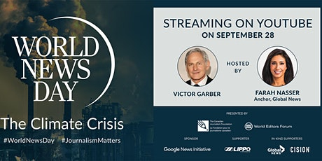 World News Day: The Climate Crisis tickets