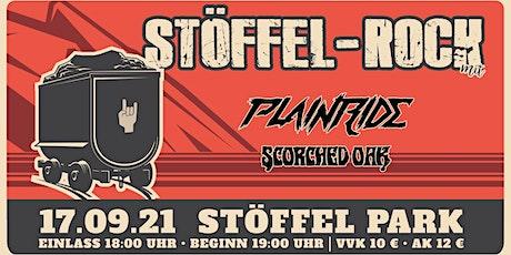 Stöffel-Rock w/ PLAINRIDE (Support: Scorched Oak)  [3G Regeln] Tickets