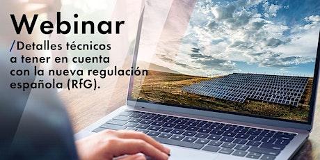 Detalles técnicos a tener en cuenta con la nueva regulación española (RfG) entradas