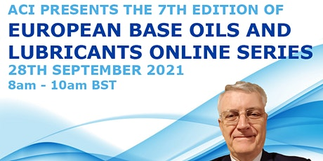 European Base Oils & Lubricants Online Series - September tickets