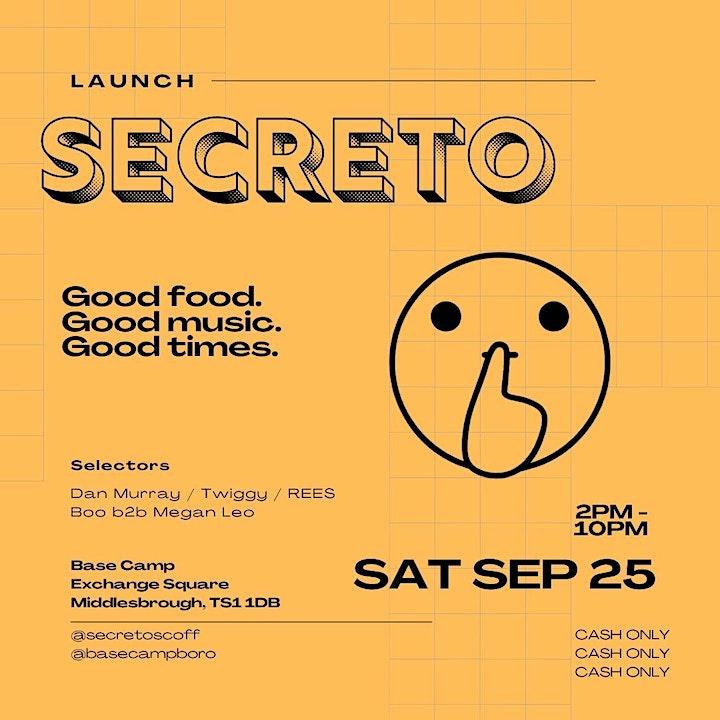 Secreto Launch: REES, Boo, Megan Leo, Twiggy & Dan Murray image