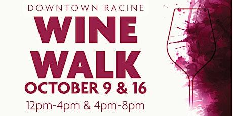 Fall Wine Walks 2021 tickets
