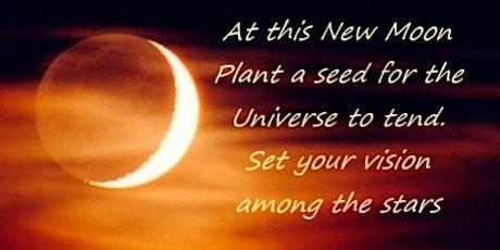 Online Free Guided Meditation -  New Moon Manifestation tickets