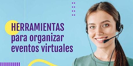 Herramientas para organizar eventos virtuales entradas