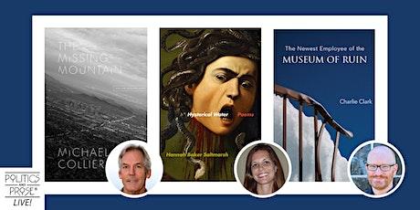 Poetry Panel with Michael Collier, Hannah Baker Saltmarsh & Charlie Clark tickets