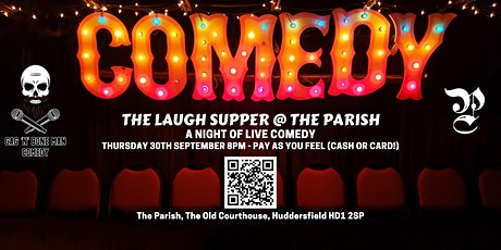 The Laugh Supper - New Act/New Material show - Pay as you feel tickets