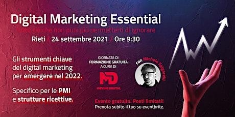 Digital Marketing Essential biglietti