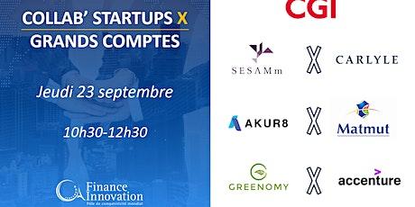 Collab' Startups X Grands Comptes billets