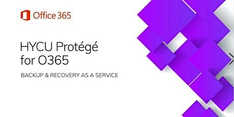 Workshop HYCU : Protégez vos données O365 (sans limite de stockage ) billets