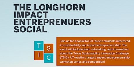 Longhorn Impact Entrepreneurs Social tickets