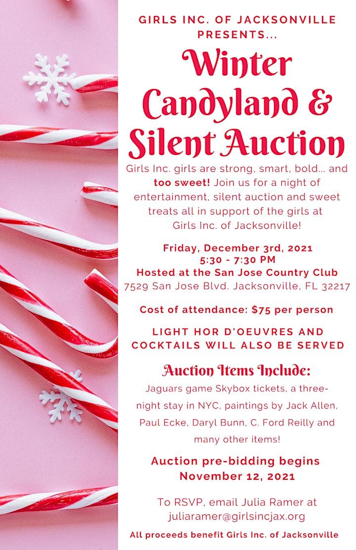 Winter Candyland & Silent Auction image