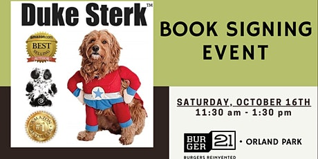 Duke Sterk™ Book Signing Event! Meet the #1 Best-Selling Author! tickets