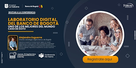 Laboratorio Digital del Banco de Bogotá, uno de los mejores del mundo. entradas