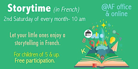 Storytelling in French - Children 5&up tickets