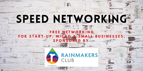 Speed Networking with The Rainmakers Club tickets